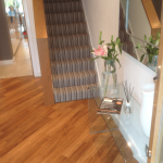 A Crowe Flooring Installation: Crucial Trading - Mississippi Stripe hallway