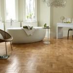 Karndean AP01 Blond Oak bathroom