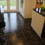Kitchen Karndean Knight Tile Onyx 1
