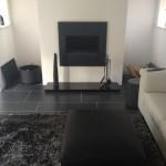 Living area Amtico Slate Noir Randm design 5