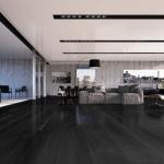 Ted Todd Hardwood Floors - Residence Range Ebony - Design Ideas