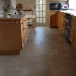 A Crowe Flooring Installation: Karndean bath stone