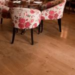 Fine Woods - English Pippy Burr Oak at Crowe Flooring