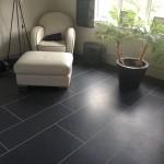 Living area Amtico Slate Noir random design 3